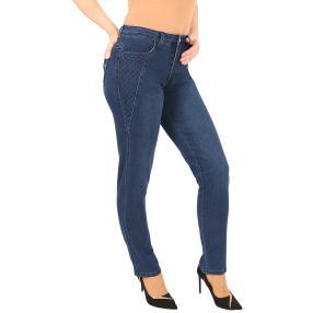 Jet-Line Damen-Jeans 'Amos' blue indigo wash