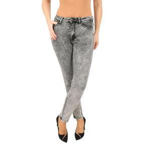 Jet-Line Damen-Jeans 'Sierra' light grey moon