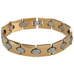 Wolfram-Armband, bicolor