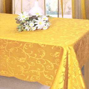 Tischdecke 130x160cm gelb
