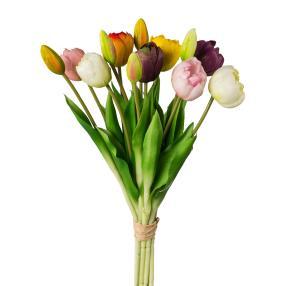Tulpenstrauß bunt, ca. 39 cm