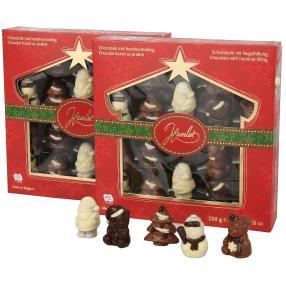 Nougat Weihnachtsfigurent