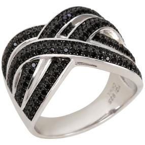 Ring 925 Sterling Silber rhodiniert Spinell