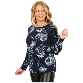 Damen-Feinstrick-Pullover 'Abby' multicolor