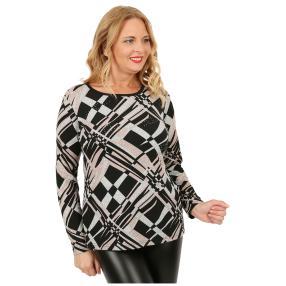 Damen-Feinstrick-Pullover 'Maisie' multicolor