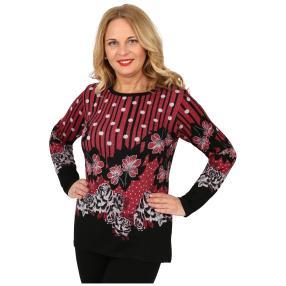 Damen-Feinstrick-Pullover 'Evie' multicolor