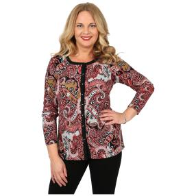 Damen-Feinstrick-Cardigan 'Kate' multicolor