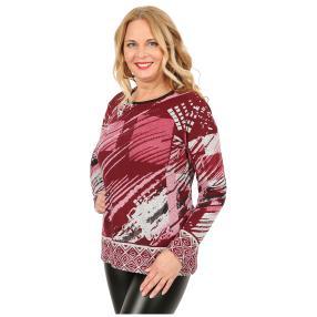 Damen-Feinstrick-Pullover 'Lana' rot