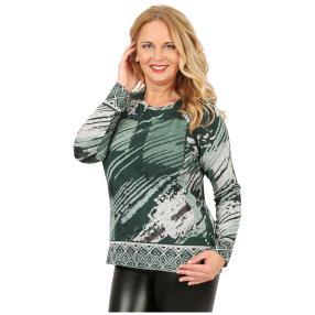 Damen-Feinstrick-Pullover 'Lana' grün