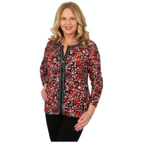 Damen-Feinstrick-Cardigan 'Betty' rot