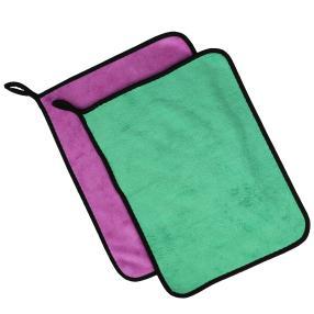 Clean Wounder Extreme 2tlg. 1x lila, 1x grün