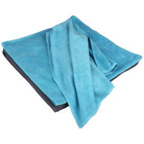 Clean Wounder Geschirrtuch 4-tlg 2x grau, 2x blau
