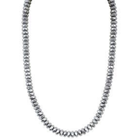 Collier Hämatit 925 Sterling Silber
