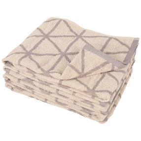 Handtuch 4er Set beige