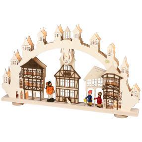 SAICO Lichterbogen Altstadt 15-flammig