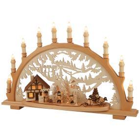 SAICO Lichterbogen Winterkinder 12-flammig