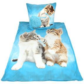 WinterDreams Bettwäsche 2-teilig, Katze