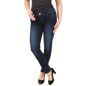 Zauberhose 'Perfect Fernanda' Denim-Star blau