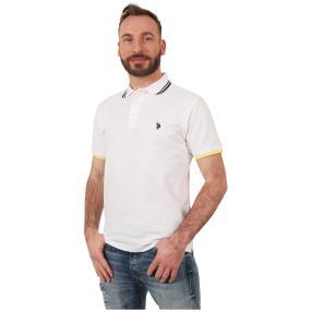 U.S. POLO ASSN. Polo-Shirt weiß