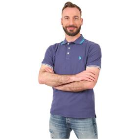 U.S. POLO ASSN. Polo-Shirt blau