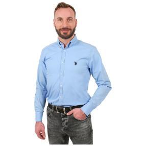 U.S. POLO ASSN. Hemd blau