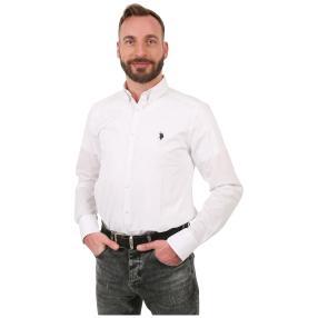 U.S. POLO ASSN. Hemd weiß