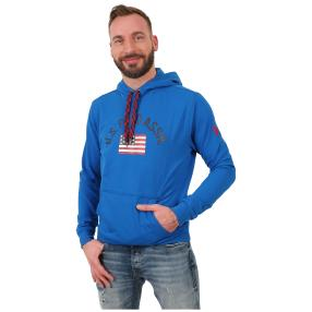 U.S. POLO ASSN. Sweat-Hoodie royalblau