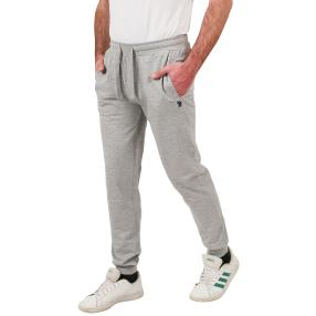 U.S. POLO ASSN. Sweat-Hose grau