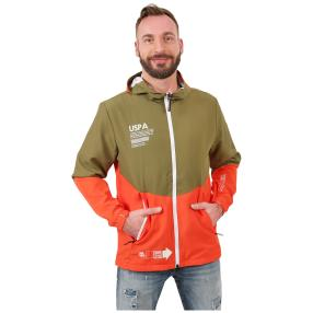 U.S. POLO ASSN. Funktionsjacke oliv/orange