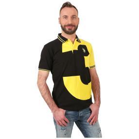 U.S. POLO ASSN. Polo-Shirt 'N.3' schwarz/gelb