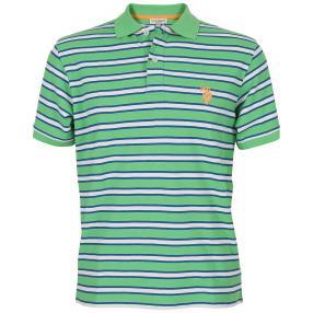 US. POLO ASSN. Polo-Shirt grün/weiß