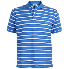 US. POLO ASSN. Polo-Shirt blau/weiß