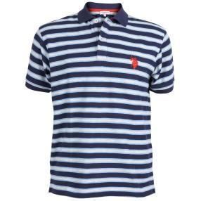 US. POLO ASSN. Polo-Shirt marine/weiß