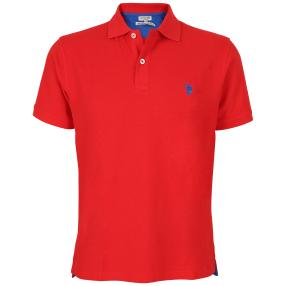 US. POLO ASSN. Polo-Shirt rot