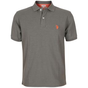 US. POLO ASSN. Polo-Shirt grau