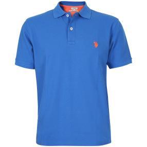 US. POLO ASSN. Polo-Shirt royalblau