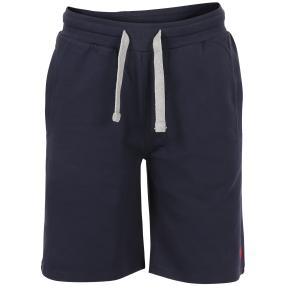 US. POLO ASSN. Kurze Sweat-Hose 'Tricolor' marine