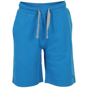 US. POLO ASSN. Kurze Sweat-Hose 'Tricolor' blau