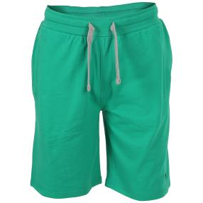 US. POLO ASSN. Kurze Sweat-Hose 'Tricolor' grün
