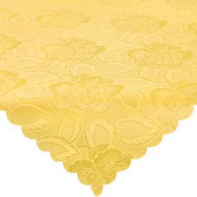 Mitteldecke gelb 80x80cm