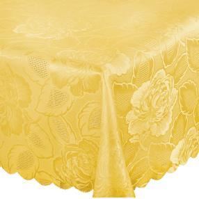 Tischdecke gelb 130x160cm