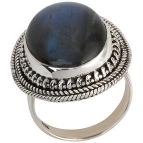 Ring 925 Sterling Silber Labradorit