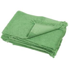 Handtuch Fransen 4er-Set grün