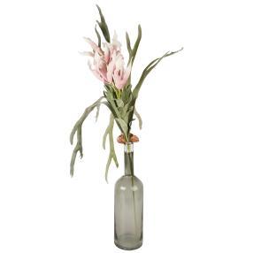 Blumen-Arrangement in Glasvase