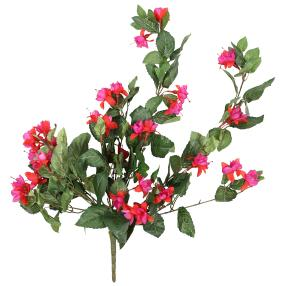 Fuchsienhänger 70 cm, rot-lila