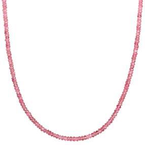 Collier Turmalin pink AAA