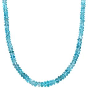 Collier Apatit AAA 925 Sterling Silber