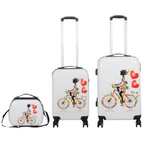 3-teiliges Trolleyset Martinique