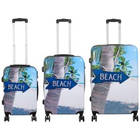 3-teiliges Trolleyset Beach