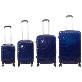 4-teiliges Trolleyset Pisa